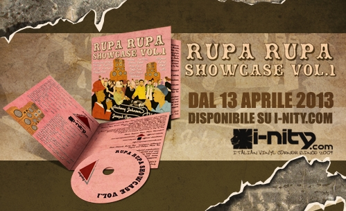 Rupa Rupa Show Case Vol.1 Out Now